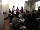 Dio predavanja se održavao u Centru za homeopatiju i akupunkturu u Zagrebu.