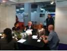 Predsjednik RH prof.dr.sc. Ivo Josipović posjetio je sa svojm delegacijom 2. međunarodni sajam alternative i zdravog života MYSTIC te je na HUPED-ovom izložbenom prostoru proveo oko 25 min na kavi u razgovoru sa predsjednikom HUPED-a